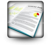 Business Plan02 PowerPoint Icon S