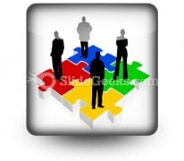 Business Team PowerPoint Icon S