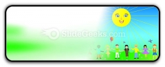 Children Poster PowerPoint Icon R