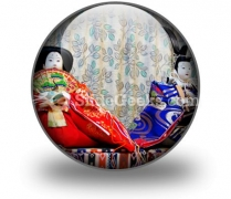 Chinese Dolls PowerPoint Icon C