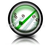 Choice Of Direction Movement PowerPoint Icon Cc