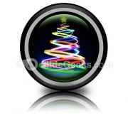 Beautiful Christmas Tree Icon