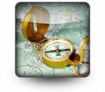 Compass PowerPoint Icon S