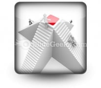 Competition And Winning Concept PowerPoint Icon S