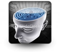Confused Mind PowerPoint Icon S
