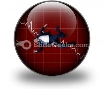 Crisis PowerPoint Icon C