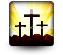 Cross Religion Ppt Icon For Ppt Templates And Slides S