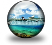 Cruise Ship01 PowerPoint Icon C