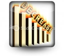Decrease PowerPoint Icon S