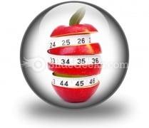 Diet Concept PowerPoint Icon C