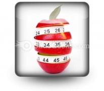 Diet Concept PowerPoint Icon S