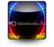 Disco Abstract Ppt Icon For Ppt Templates And Slides S
