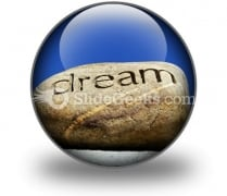 Dreams Put To Rest PowerPoint Icon C