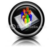 E Book Data PowerPoint Icon Cc
