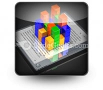 E Book Data PowerPoint Icon S