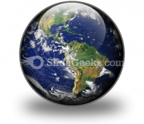 Earth PowerPoint Icon