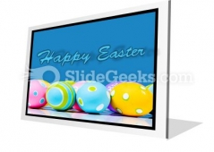 Easter Eggs PowerPoint Icon F