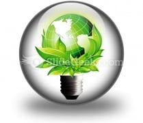Eco Concept PowerPoint Icon C