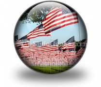 Flags PowerPoint Icon C
