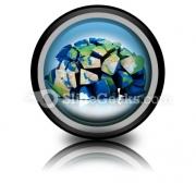 Global Destruction PowerPoint Icon Cc