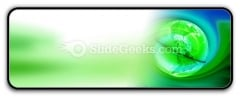 Green Earth PowerPoint Icon R
