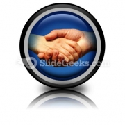 Handshake PowerPoint Icon