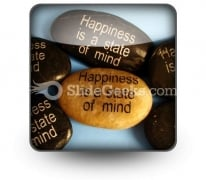 Happiness Affirmations PowerPoint Icon S