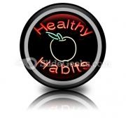 Healthy Habits PowerPoint Icon Cc