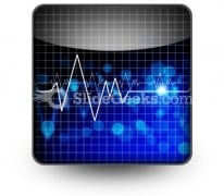 Heartbeat Medical PowerPoint Icon S