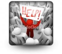 Help PowerPoint Icon S