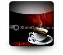 Hot Coffee PowerPoint Icon S