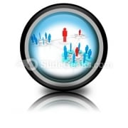 Human Resources PowerPoint Icon Cc
