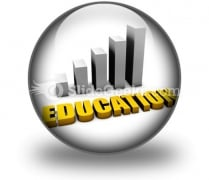 Increasing Costs Of Education PowerPoint Icon C