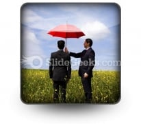 Insurance Agent PowerPoint Icon S