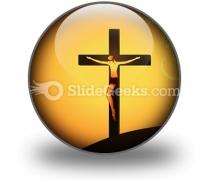 Jesus Christ PowerPoint Icon C