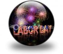Labor Day PowerPoint Icon C