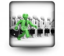 Leadership Business PowerPoint Icon S