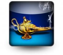 Magic Lamp PowerPoint Icon S