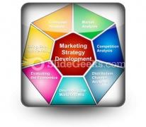 Marketing Strategies Development PowerPoint Icon S