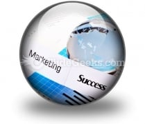 Marketing Success PowerPoint Icon C
