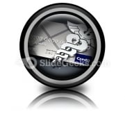 Medical Credit PowerPoint Icon Cc