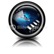 Medical Technology PowerPoint Icon Cc