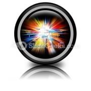 Model Of Explosion Ppt Icon For Ppt Templates And Slides Cc