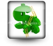 Money Ladders Ppt Icon For Ppt Templates And Slides S
