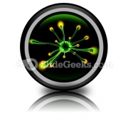 Neuronal Cell PowerPoint Icon Cc