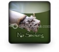 No Smoking PowerPoint Icon S