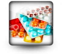 Packs Of Pills PowerPoint Icon S