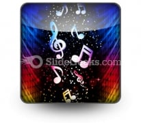 Party Colorful Waves Ppt Icon For Ppt Templates And Slides S
