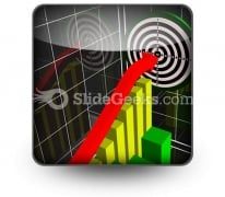 Performance Chart PowerPoint Icon S