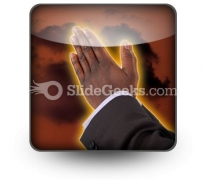 Prayer Of Fire PowerPoint Icon S